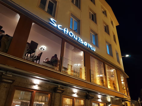 Würzburg Schönborn Kaffehaus