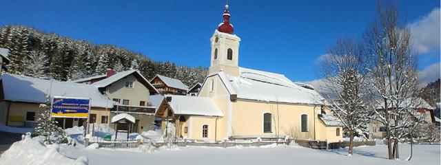 Evangelische Kirche in Mitterbach im Mariazeller Land