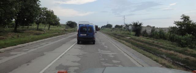 Straße in Moldau