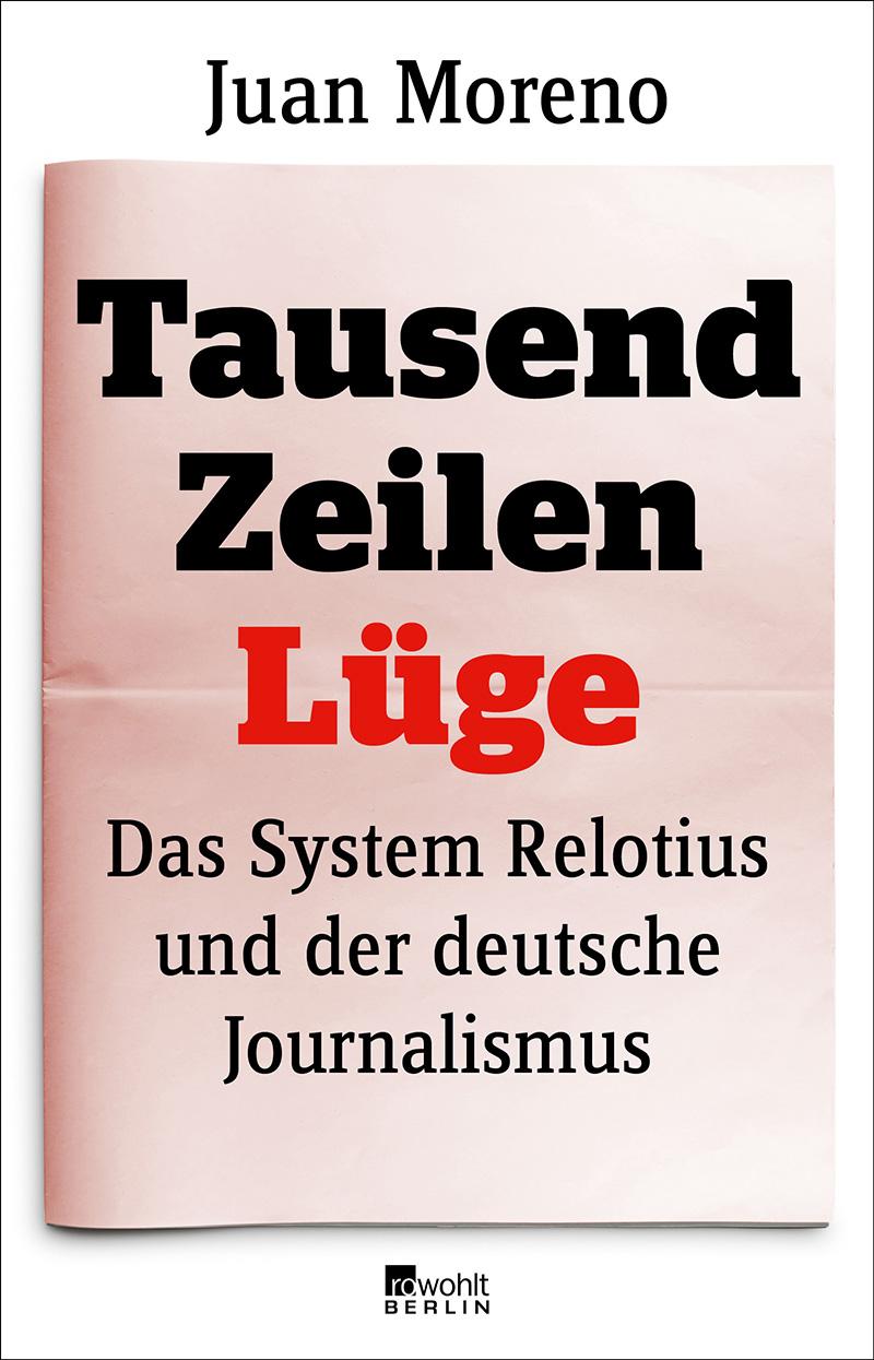 """Buchcover """"Tausend Zeilen Lüge"""""""