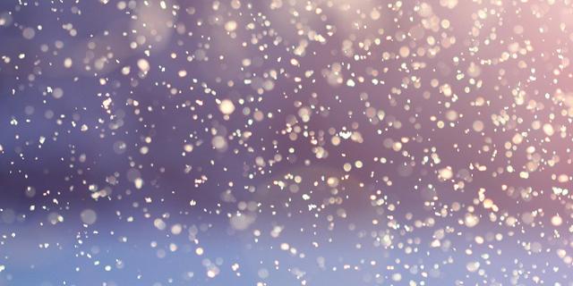 Schneeflocken, Sonne