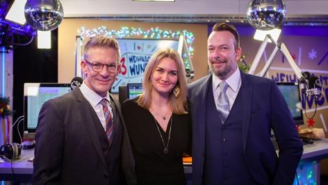 Gabi Hiller, Andi Knoll und Robert Kratky