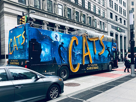 Cats-Weltpremiere in New York City