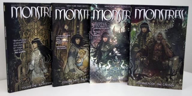 Comic Monstress