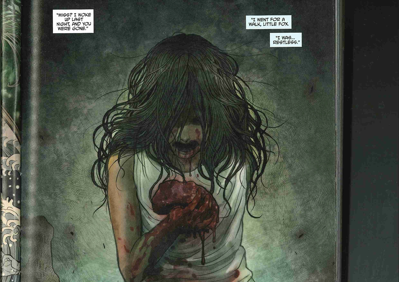 "Comic ""Monstress"""