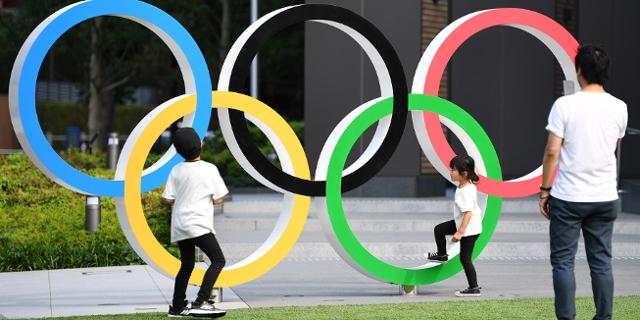 Olympische Ringe in Tokyo