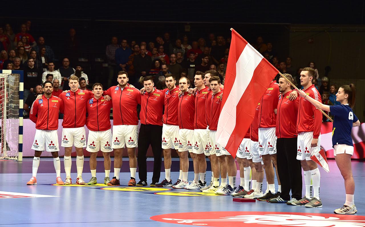 Handball EM Österreich - Tschechien