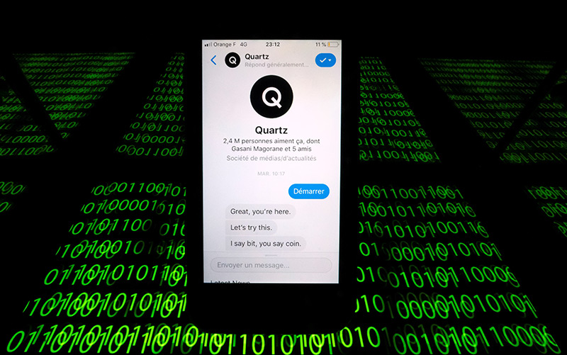 Quartz chat bot