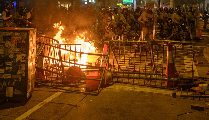 Proteste in Hongkong 2019