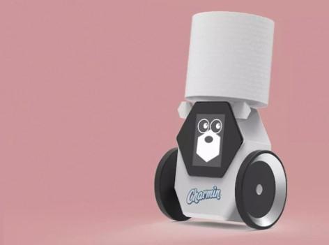 Der Klopapierroboter Roll Bot