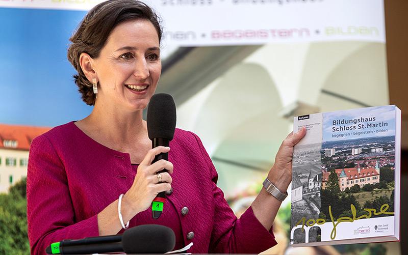 Die Historikerin Barbara Stelzl-Marx