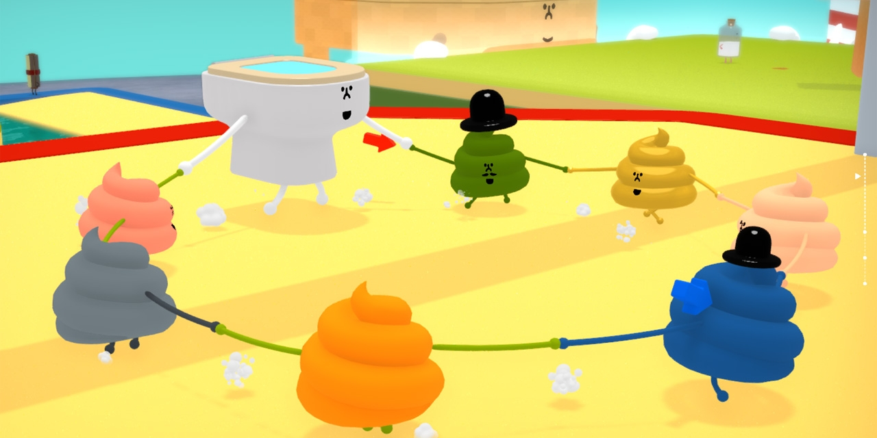 "Computerspiel ""Wattam"""