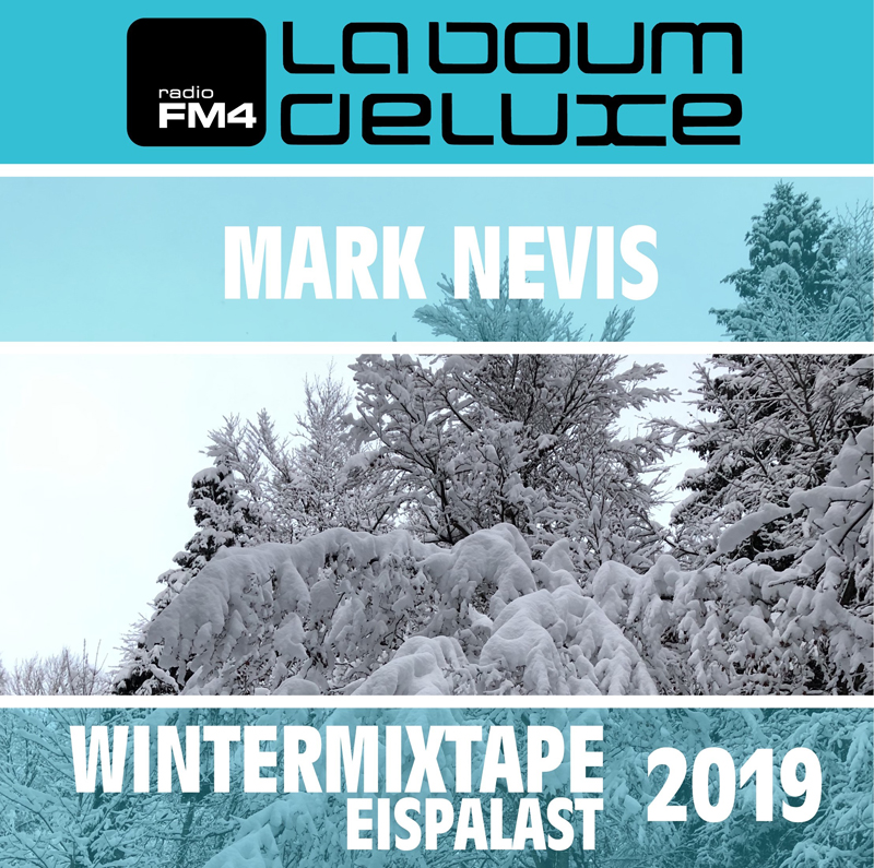 Illustration des Wintermixtapes Eispalast 2019 mit Mark Nevis