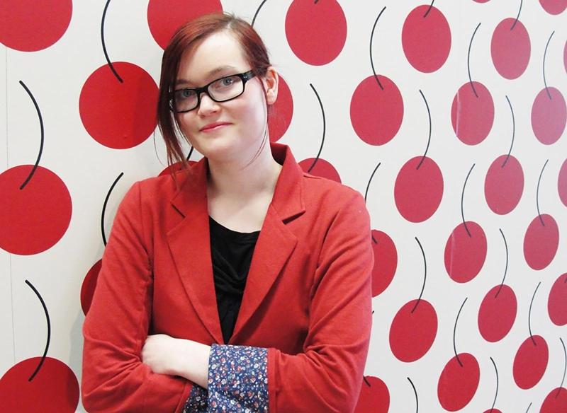 Die deutsche Comicbuch-Autorin und Illustratorin Olivia Vieweg