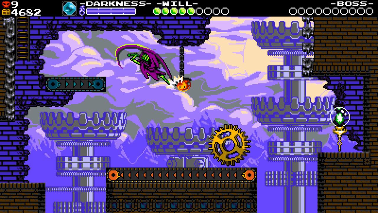 """Bildschirmfoto aus der Computerspielreihe """"Shovel Knight"""""""