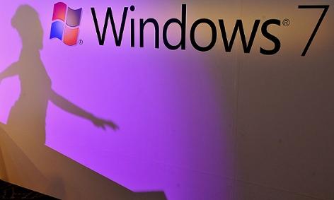 Windows 7-Bildschirm