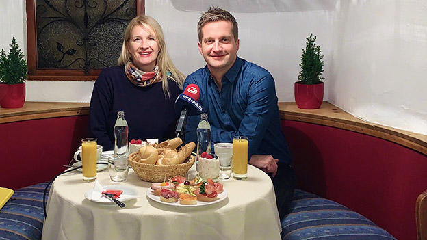 Oliver Polzer und Claudia Stöckl