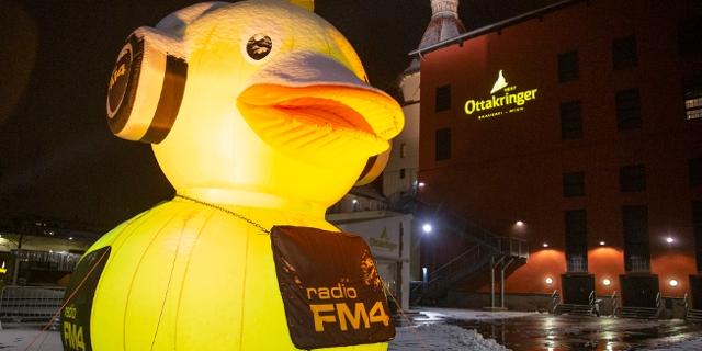 FM4-Ente beim FM4 Geburtstagsfest