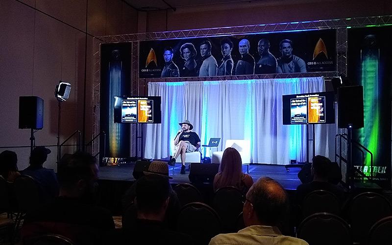 """Stefan Rabitsch trägt bei der """"Star Trek""""-Convention in Las Vegas vor"""