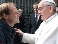 Gonzalo Aemilius mit Papst Franziskus