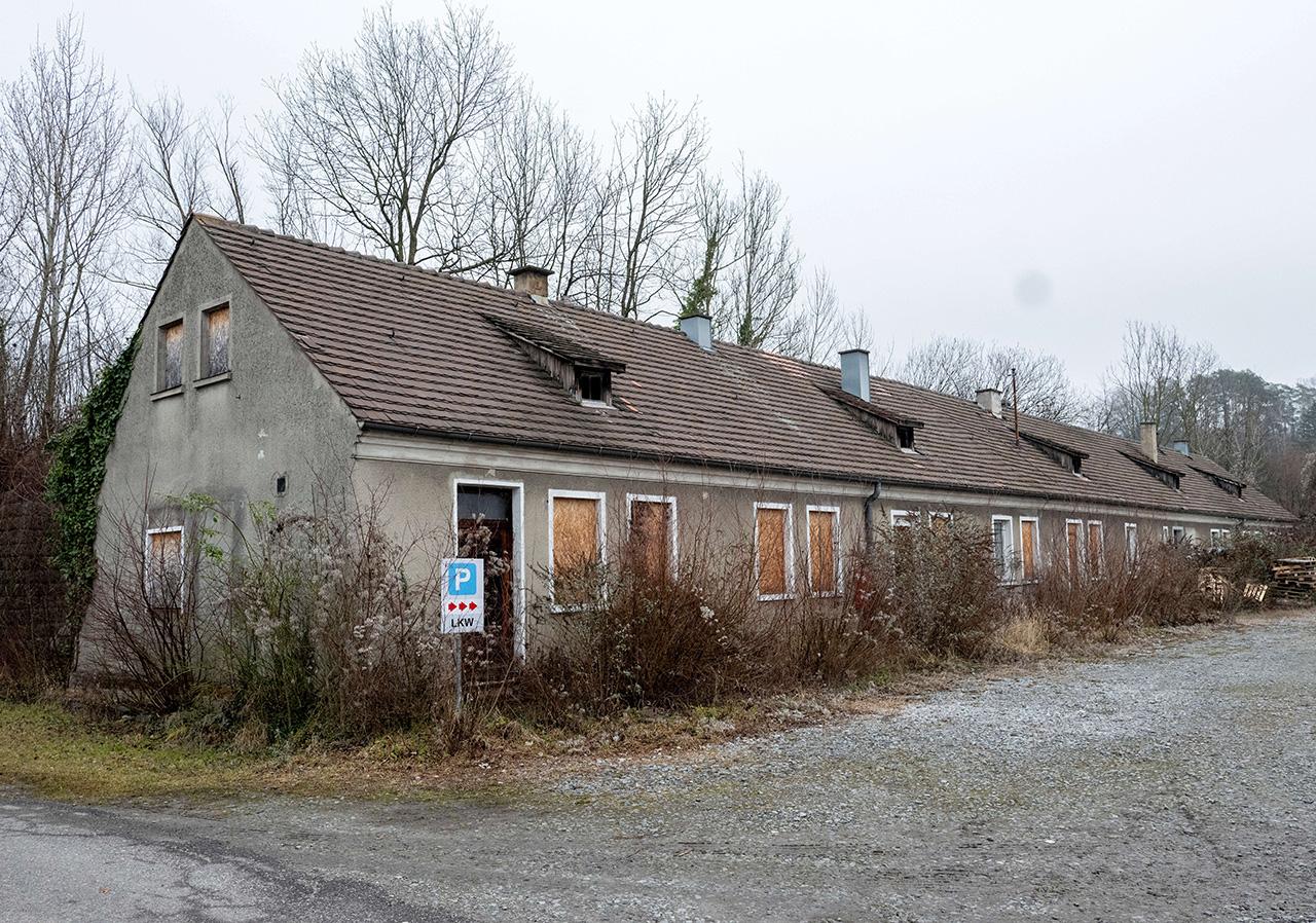 Überreste des KZ Gusen