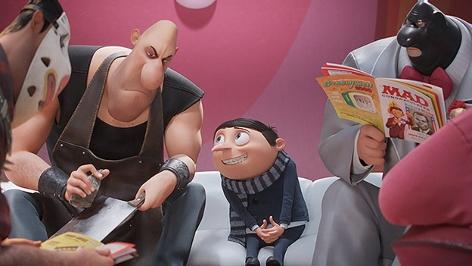 """Szenenbild aus """"Minions - Auf der Suche nach dem Mini-Boss"""""""