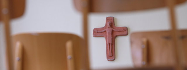 Kreuz im Klassenzimmer