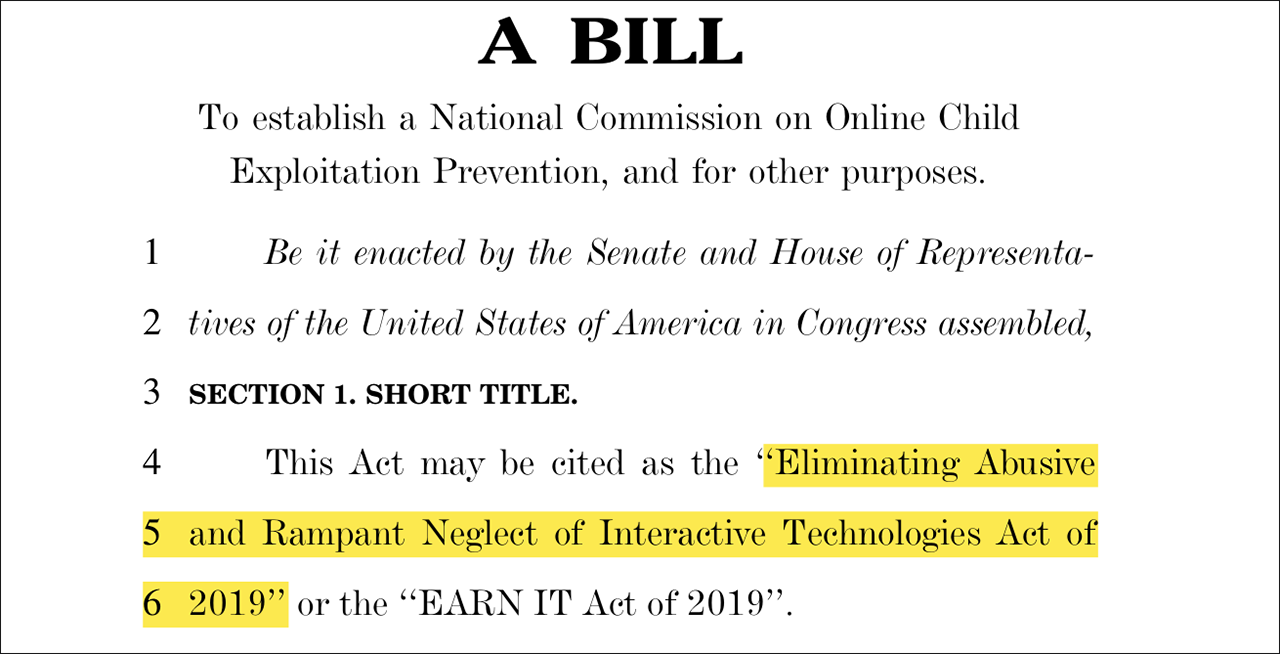 A Bill to establish a National Commission on Online Child Exploitation Prevention