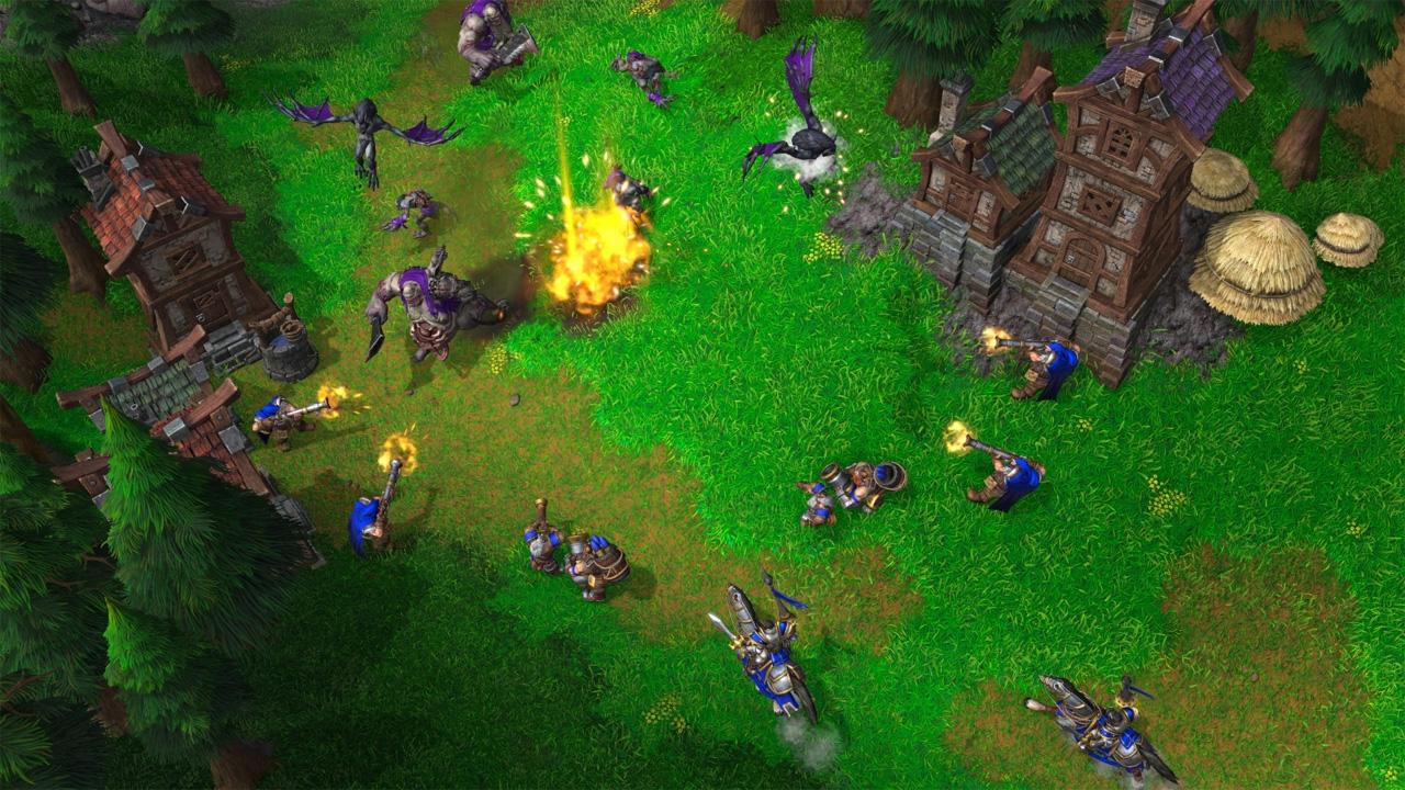 """""""Warcraft 3: Reforged"""""""