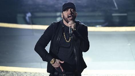 Eminem auf der Bühne bei den Oscars