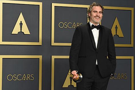 """Joaquin Phoenix ist bester Hauptdarsteller - er gewinnt den Oscar für seine Rolle in """"Joker"""""""