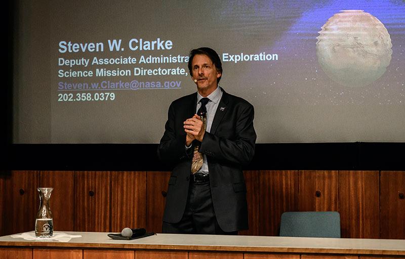 NASA-Forscher Steve Clarke