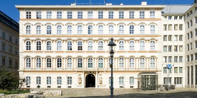Bundesministerium für europäische und internationale Angelegenheiten am Minoritenplatz in Wien