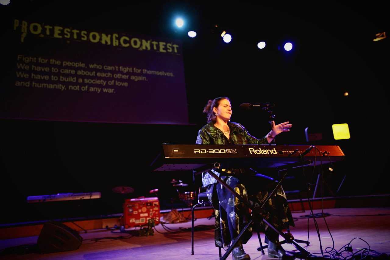 Protestsongcontest: Kay Dee