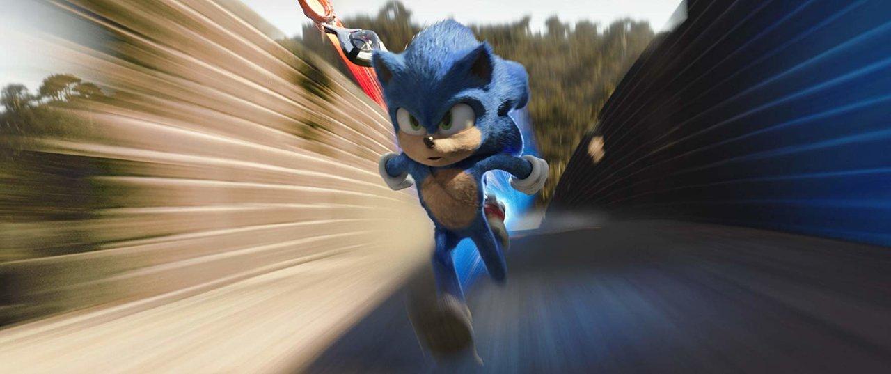 "Still aus dem Film ""Sonic the Hedgehog"""