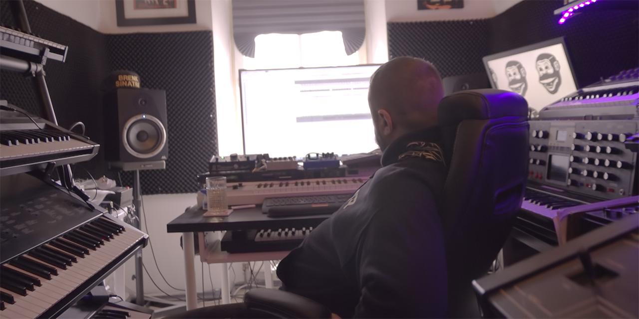 Brenk Sinatra im Studio