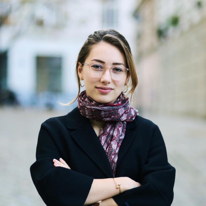 Sophie Spiegelberger von den Young Democrats in Austria