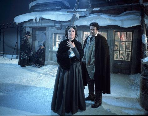 """Mirella Freni in """"La Bohème""""    Originaltitel: La Boheme (ITA 1965), Regie & Set: Franco Zeffirelli"""