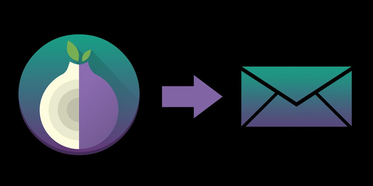 TOR-Logo und Brief