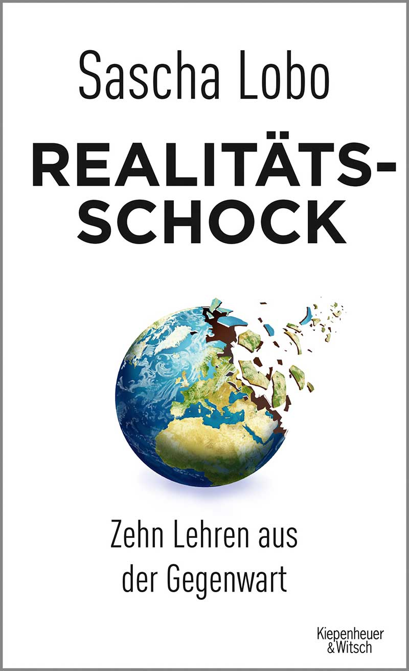 """Buchcover """"Realitätsschock"""" von Sascha Lobo"""