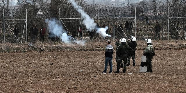 Flüchtlinge an der griechisch türkischen Grenze