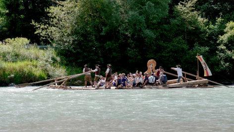 Leben im Drautal    Originaltitel: Drau-Flößerei Unesco (5/10)