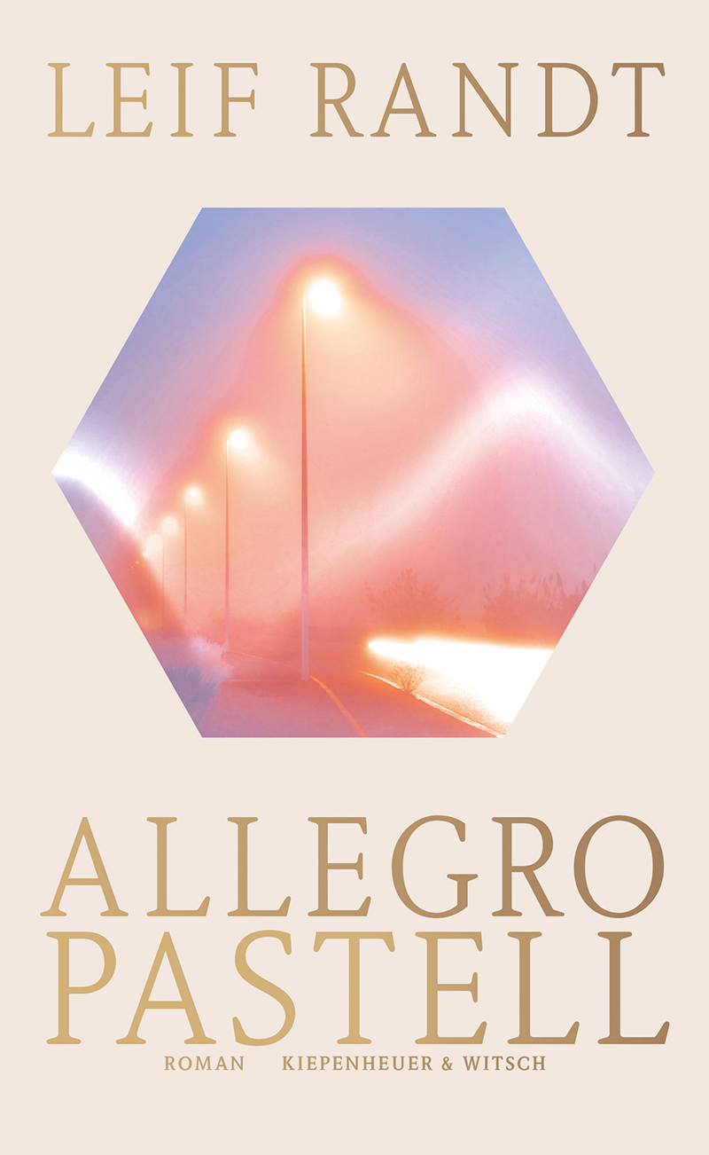 """Buchcover """"Allegro Pastell"""""""