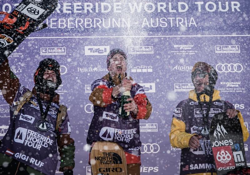 Herren Snowboard Sieger
