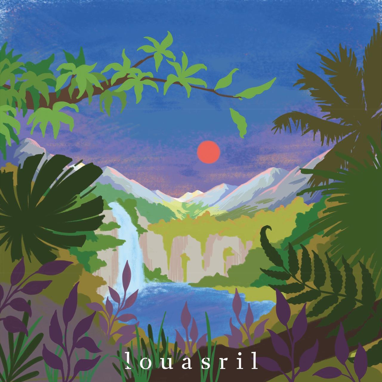 "Cover ""louasril"" von Lou Asril"
