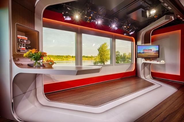 Mobiles Studio Innenansicht