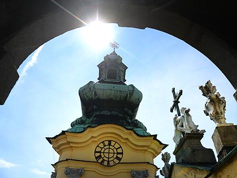 Kirchentürme des Linzer Ursulinenklosters