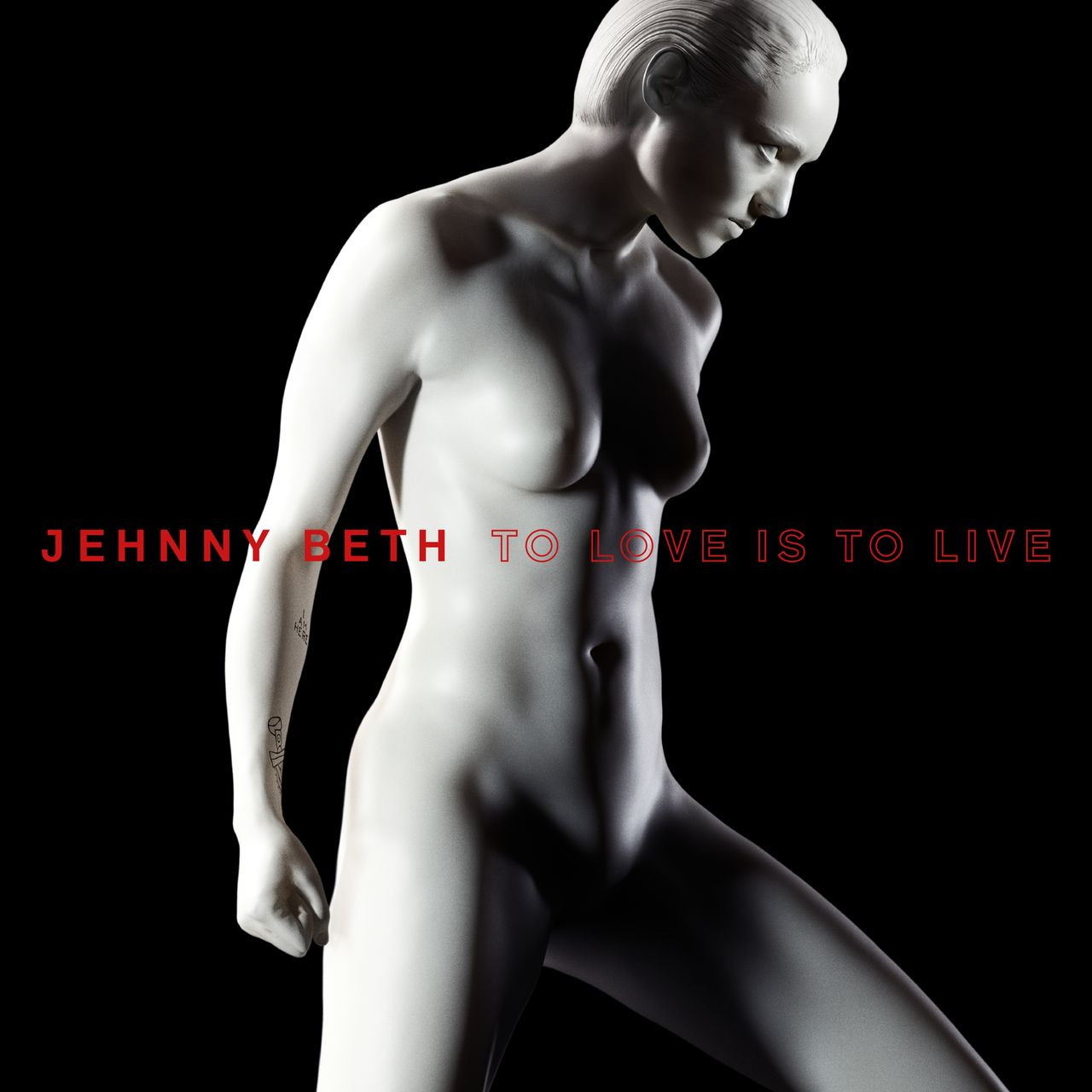 "Jehnny Beth Album Cover ""To Love Is To Live"""