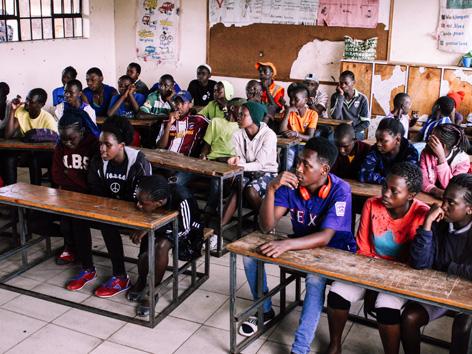 Sister Mary vom Orden der Barmherzigen Schwestern kam vor 40 Jahren nach Nairobi und gründete Schulen für Kinder aus dem Slum