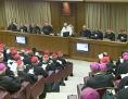 Familiensynode, mit Papst Franziskus im Vatikan